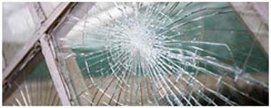 Frampton Cotterell Smashed Glass